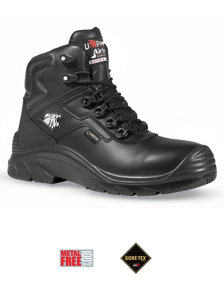 scarpa antinfortunistica upower linea gore-tex modello drop gtx