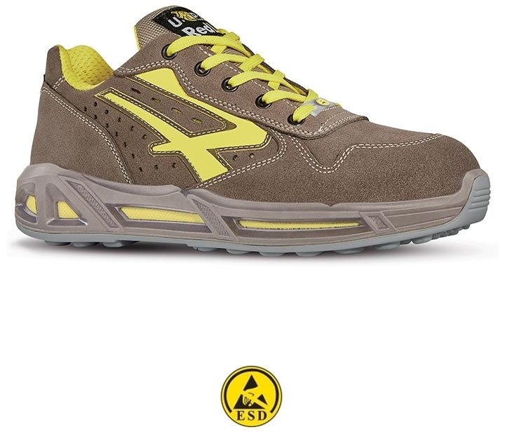 scarpa antinfortunistica upower linea red-carpet modello adventure carpet