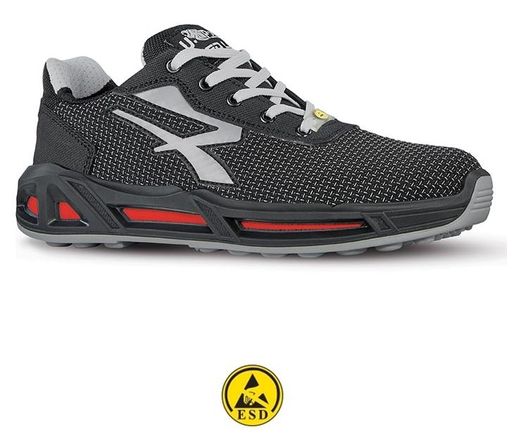 scarpa antinfortunistica upower linea red-carpet modello raptor carpet