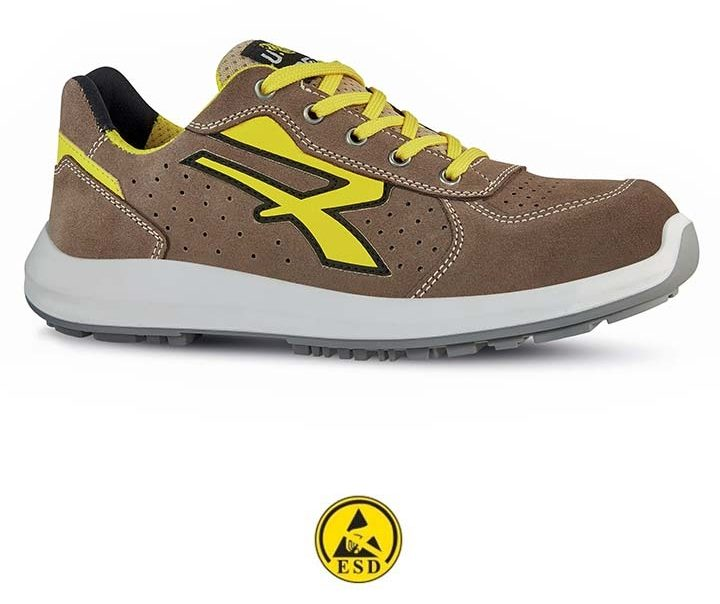 scarpa antinfortunistica upower linea red-up modello dorado