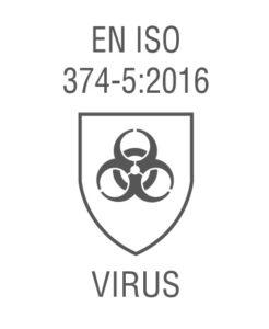 Virus guanti